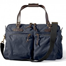 48-Hour Tin Cloth Duffle Navy