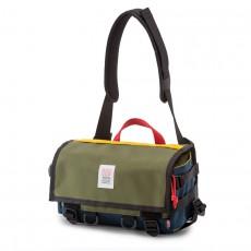 Field Bag Navy Olive
