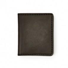 Bi Fold Cash & Card Case Marron
