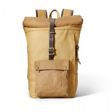 Roll-Top Backpack Tan