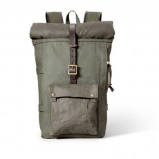 Roll-Top Backpack Olive