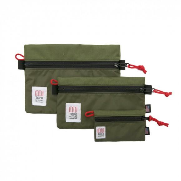 Topo Accessory Bag Olive