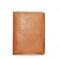 Passport & Card Case Tan