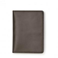 Passport & Card Case Gris Vert