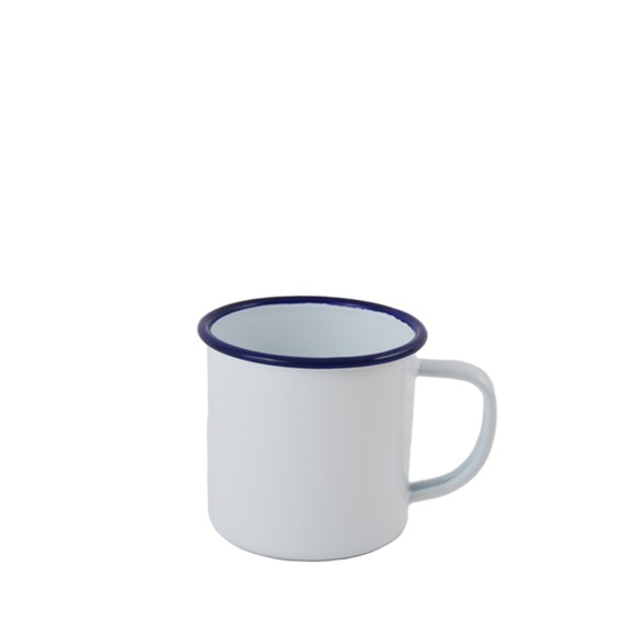 falcon enamelware mug email blanc et bleu 12 50. Black Bedroom Furniture Sets. Home Design Ideas