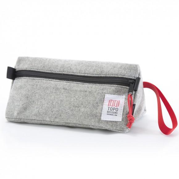 Dopp Kit Wool Grey