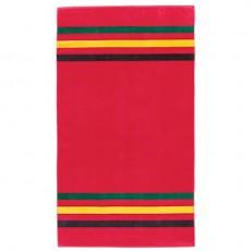Glacier National Park Spa Towel Red