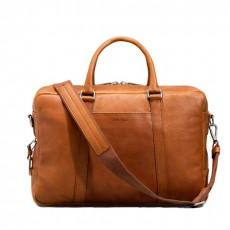 """Slim Briefcase 15"""" Bourbon Bolsa en Bandolera"""