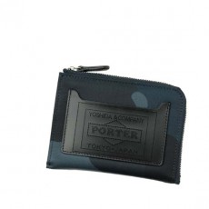 Camouflage Multi Wallet Navy