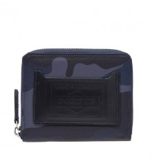 Camouflage Wallet Bifold Navy