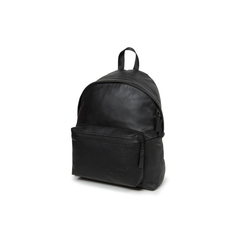 Eastpak Padded Pak'r Leather en cuir Black Ink Leather noir 6b1gvilhI