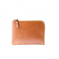Universal Zip Wallet Saddle Tan