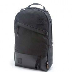 Day Pack Ballistic Black Leather