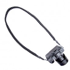 Braided Camera Strap Black