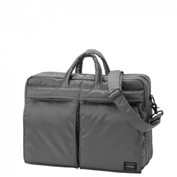 Porter Yoshida Tanker 2 Way Briefcase Grey 539 d6d1df205cc71
