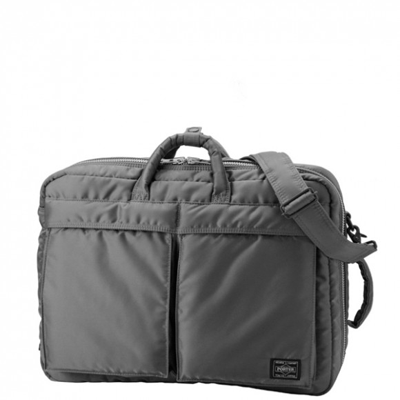 Tanker 3 Way Briefcase Grey