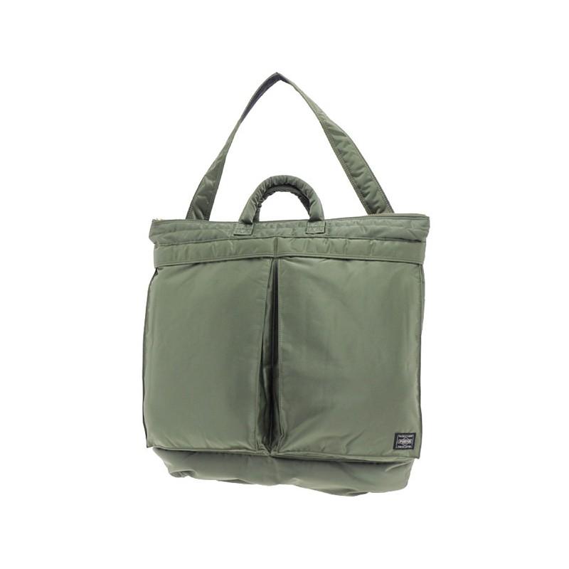 36a768f5c3 Porter Yoshida Tanker 2 Way Helmet Bag Green 339