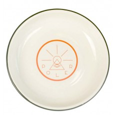 Golden Circle Enamel Plate