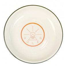 Golden Circle Enamel Plate