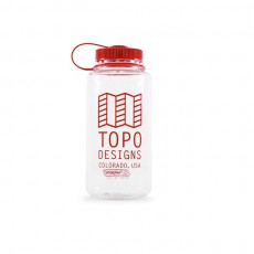 TOPO DESIGNS NALGENE WATER BOTTLE BLACK