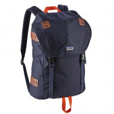 Arbor Pack Navy Blue W Paintbrush Red