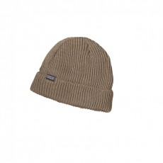 Bonnet Fishermans Rolled Beanie Ash Tan