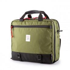 """3-Day Briefcase 17"""" Noir Ballistic / Olive"""