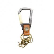 02000 Carabiner Key Holder Caramel