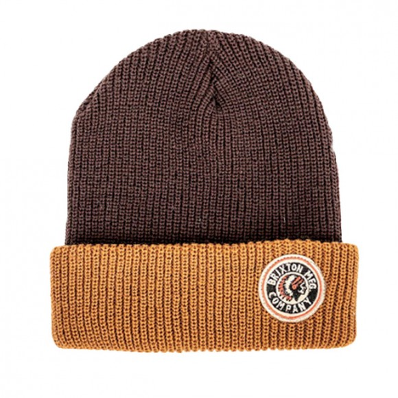 028a91fe9548c Brixton Brixton Beanie Brown Copper 45