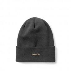 Wool Cuff Cap Black