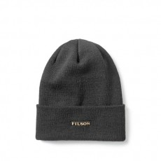 Wool Cuff Cap Black
