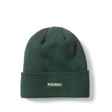 Wool Cuff Cap Green