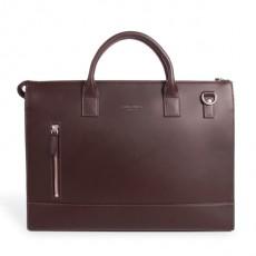 Suffren Brown Leather Briefcase