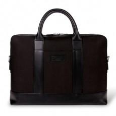 Montorgueil Bag Black Cordura Black Leather