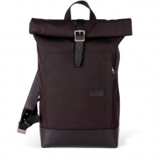 Caulaincourt Backpack Black Cordura Black Leather