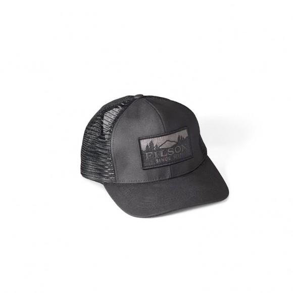 Logger Mesh Cap Black
