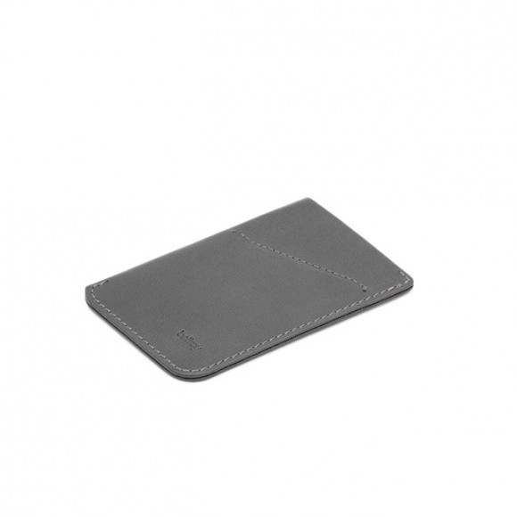 Porte Carte Slim Cuir Charcoal