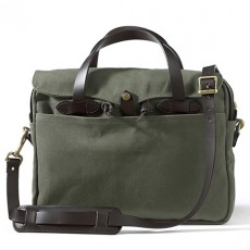 "Rugged Twill Original Briefcase 15"" Otter Green"