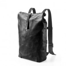 Pickwick Small Thick Leather Cult Black