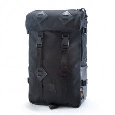 Klettersack Ballistic Black Leather