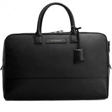 Sac Week End Douglas XL Nylon Noir Cuir Noir