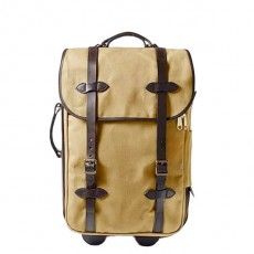 Rolling Carry-On Bag Medium Tan