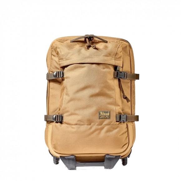 31d2fabc49 Filson Ballistic Nylon Dryden 2-Wheel Rolling Carry-On Bag Whiskey ...