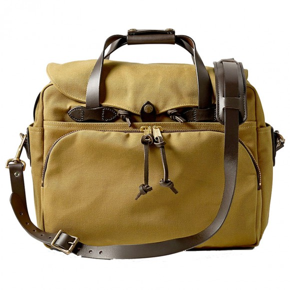"Padded Computer Bag 17"" Beige"