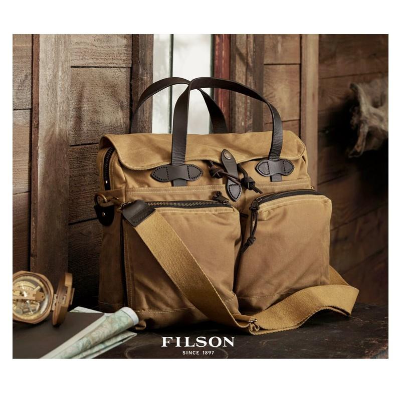 c4202cf938ed Filson 24-Hour Tin Cloth Briefcase 15