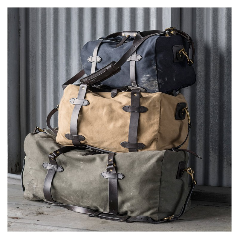 Carry On Duffle Bag Medium Tan