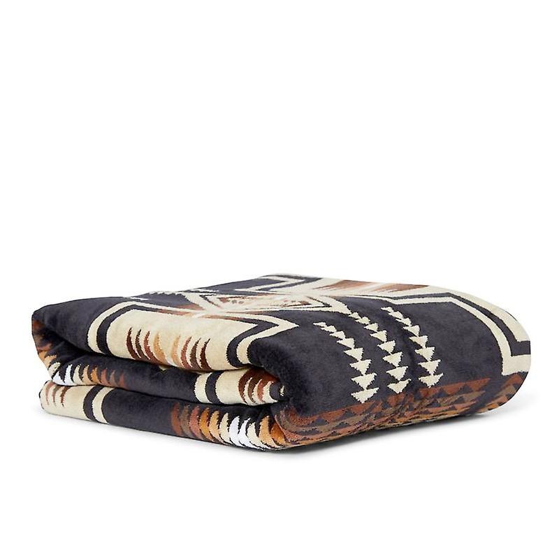 pendleton serviette de bain grande taille harding black 89 00. Black Bedroom Furniture Sets. Home Design Ideas
