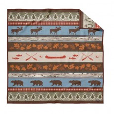 Couverture Pine Lodge Taille Queen