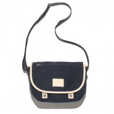 Canvas Shoulder Bag Bleu