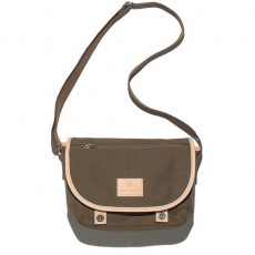 Canvas Shoulder Bag Olive